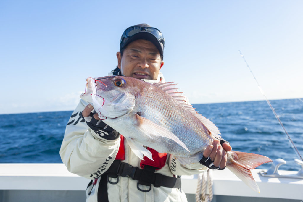 タイラバ釣り